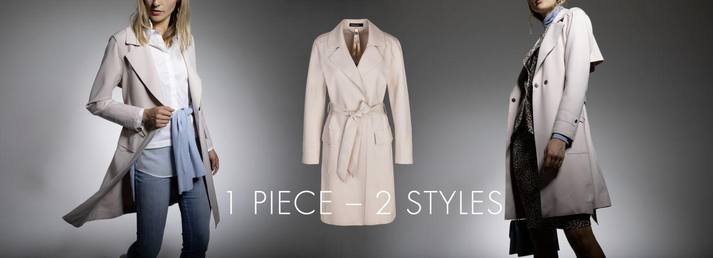 1 Piece  2 Styles
