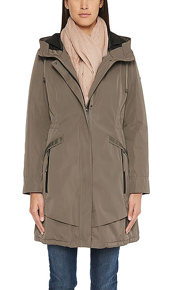 Padded functional coat