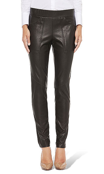 Pants in artificial leather