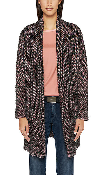 Supersoft knitted coat