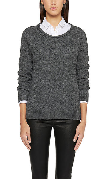 Sweater with textured pattern