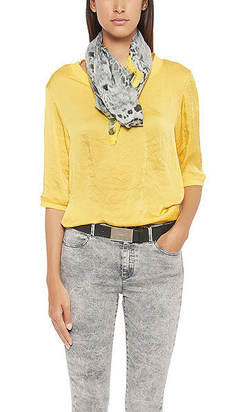 Blusen-Shirt aus Satin