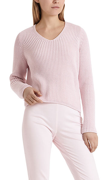 Grobstrickpullover Knitted in Germany