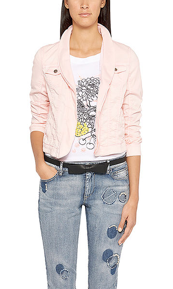 Feminine denim jacket