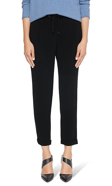 Lounge Pants aus Crepe