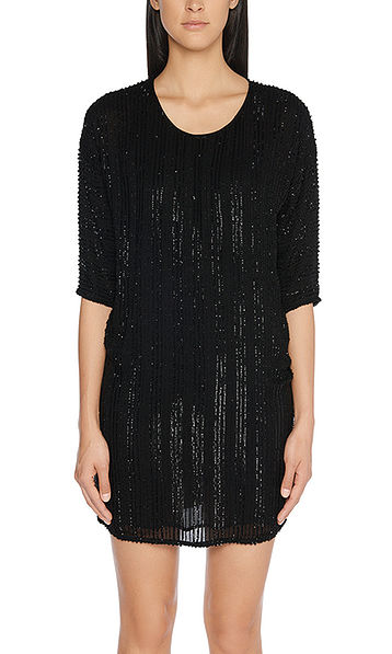 Robe à paillettes