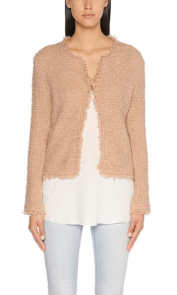 Ultra-soft knitted jacket