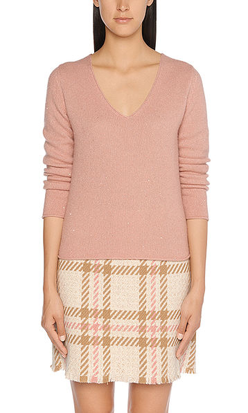 Cuddly cashmere pullover