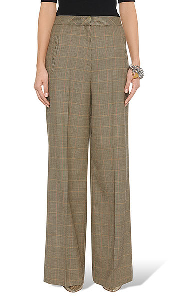 Elegant pants in pure new wool