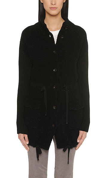 Tailored knitted jacket
