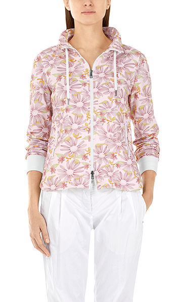 Jacket with daisies
