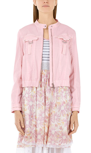 Veste en coton stretch