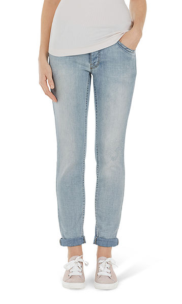 Feminine jeans
