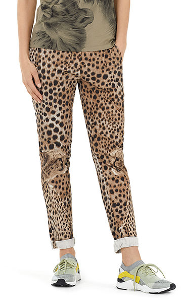 Maleika trousers with jogging waistband
