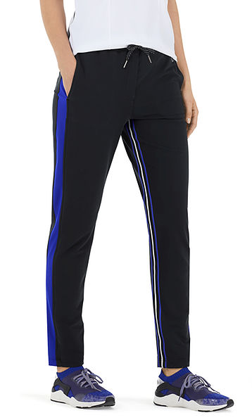 Fitwear pants in stretch cotton