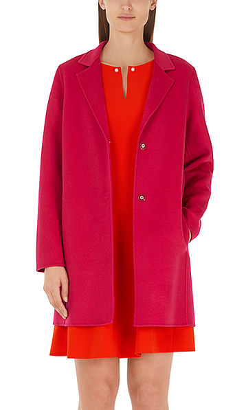 Coat in wool and cashmere