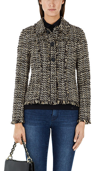 Modern tweed jacket