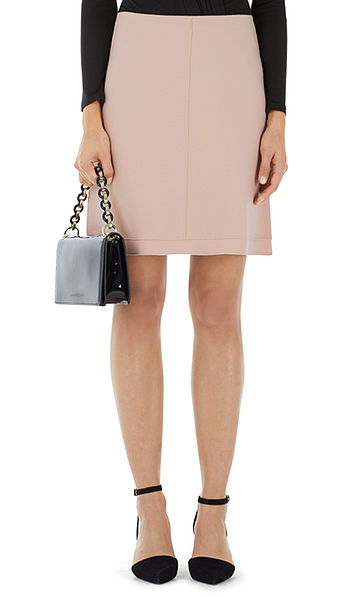 Skirt in pure new wool and cashmere