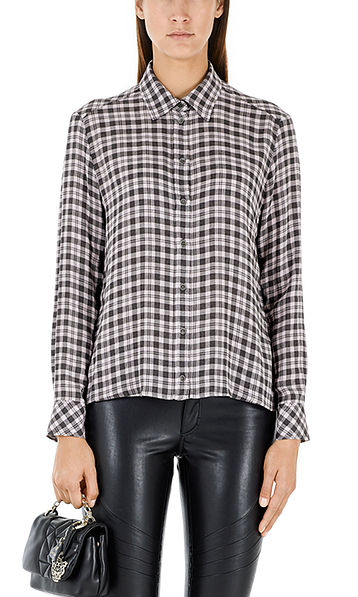 Casual checked blouse