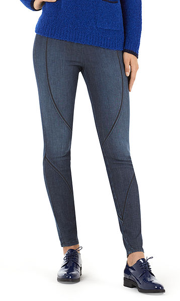 Elasticated jeans