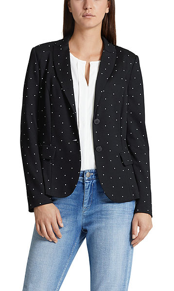 Blazer met sterrenprint