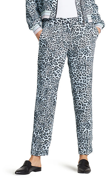 Pants with animal print