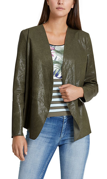 Jacket in nappa leather
