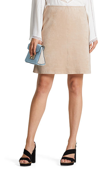 Skirt in fun velours
