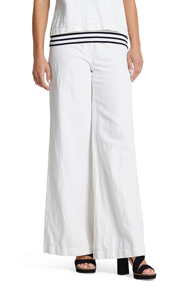 Pantalon avec du lin