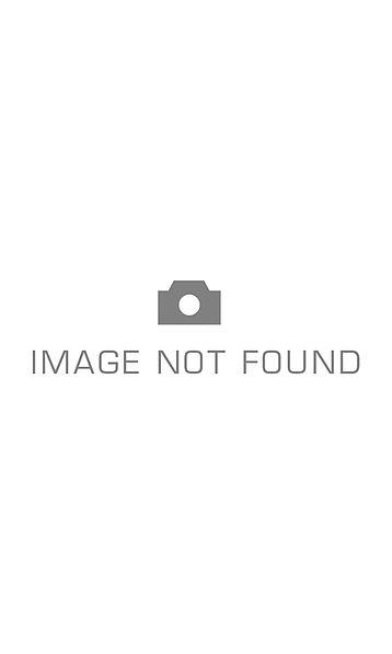 Asymmetric striped sweater