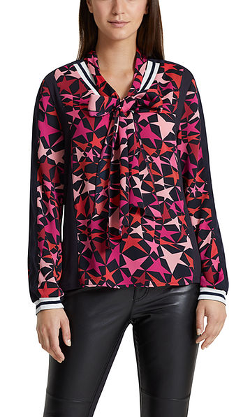 Blouse with star pattern