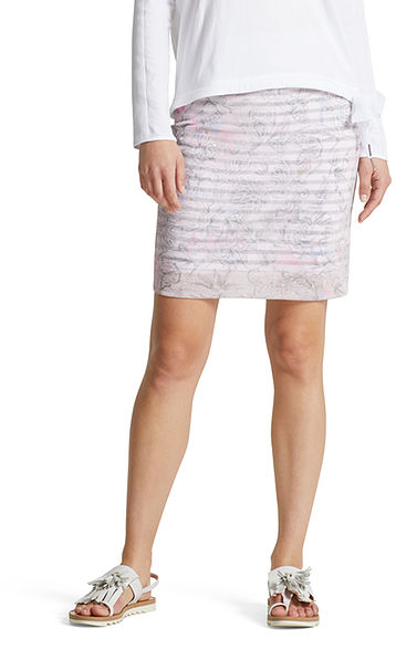 Skirt with sketch print