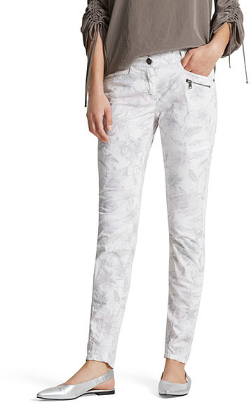 Pants with sketch print