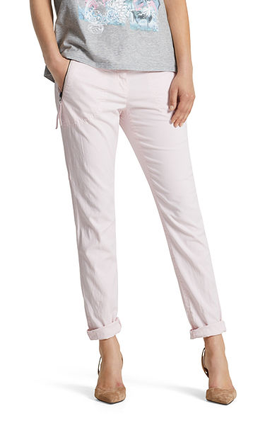 Pants with linen