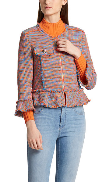 Veste couture en tweed