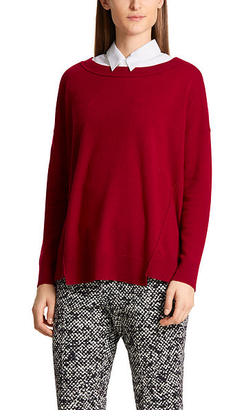 Loose sweater in cashmere