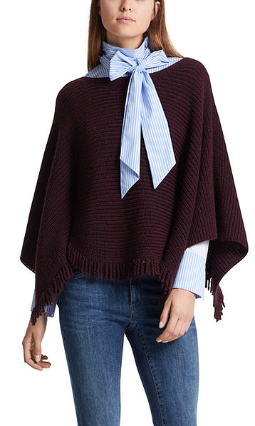 Striped blouse-style top