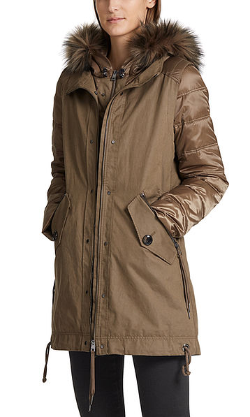 Two-piece outdoor jacket