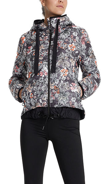 Padded fitwear jacket
