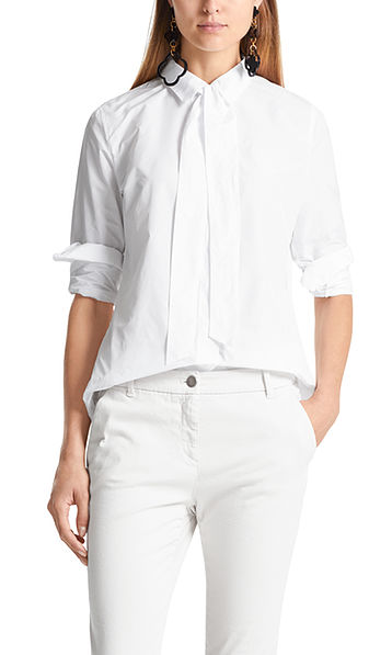 Taft blouse met strik