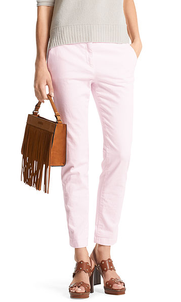 Chinos in cotton
