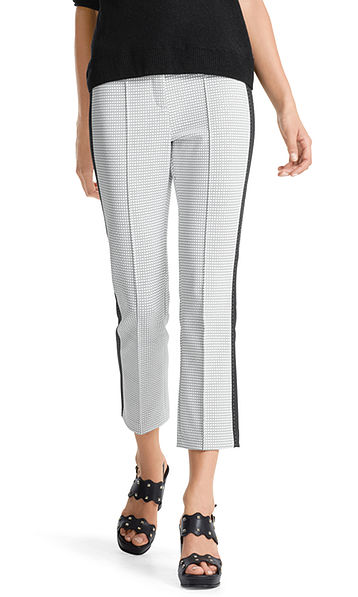 Pants with graphic print