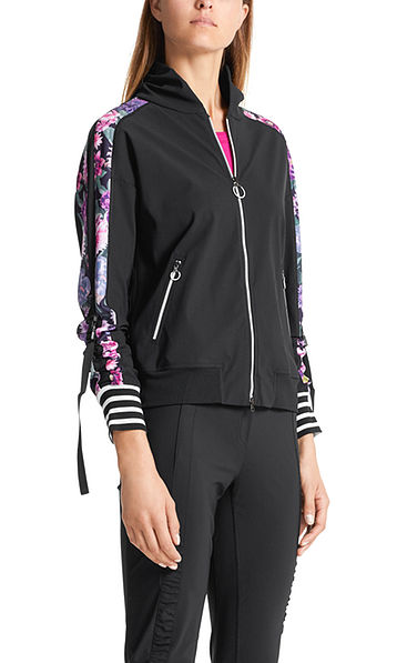 Blouson stretch au look sportif