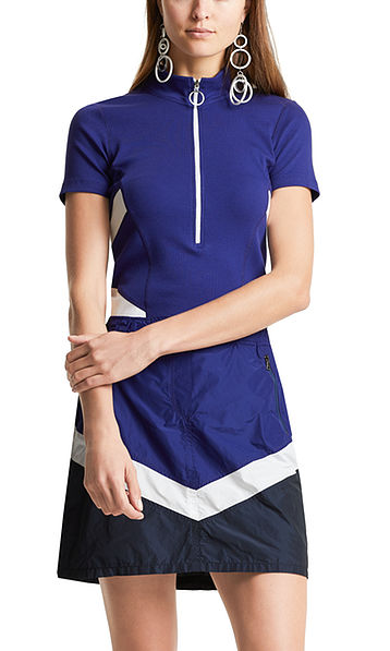 Tee-shirt à motif colorblock