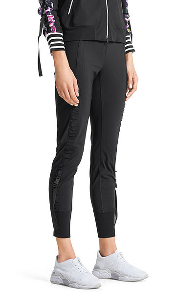Jersey pants with click clasps