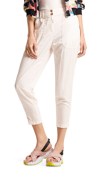 Pantalon avec de la soie