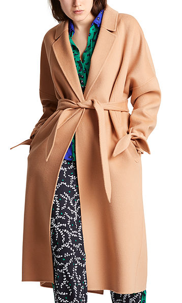Luxurious double-faced coat