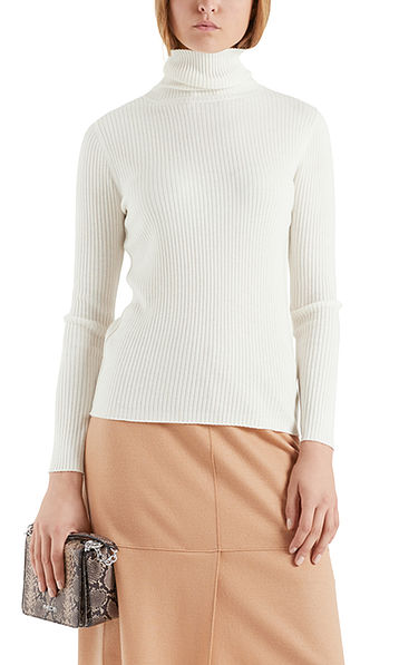 Sweater with a ribbed texture