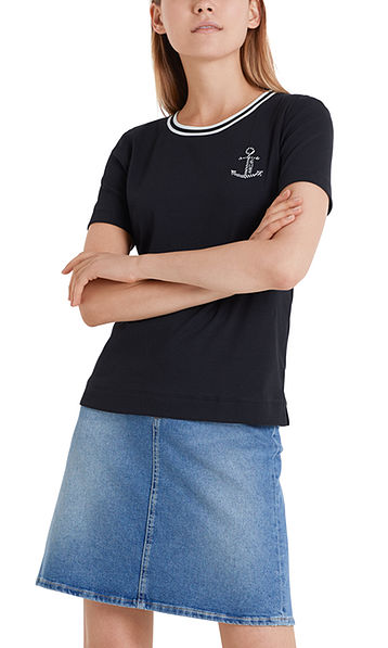 Nautical T-shirt in cotton