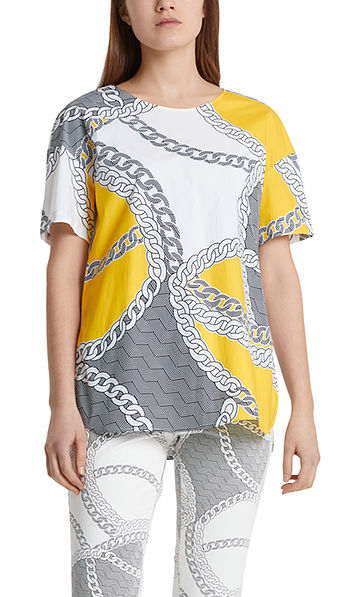 Printed blouse-style top